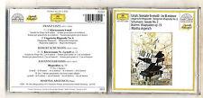 Cd LISZT Sonate in B minor SCHUMANN Sonate 2 BRAHMS Rhapsodia 79 MARTHA ARGERICH
