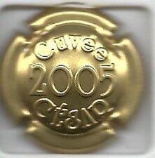 Capsule de champagne COUTELAS  Cuvée César 2005 estampée news