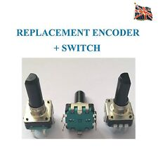 Encoder EC12 24 Det + Switch Shaft + Bushing length = 20mm Knob 6mm flat shaft
