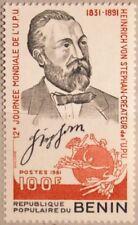 BENIN 1981 270 513 World UPU Day Heinrich von Stephan Weltpostverein Post MNH