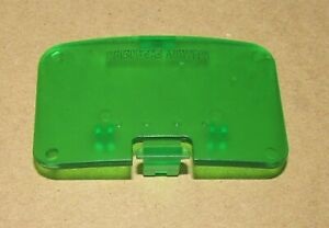 Green Expansion Cover / Lid for Nintendo 64 Fast Free Shipping!
