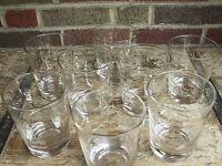 Tulsa Opera Drinking Glasses Madama Butterfly Carmen Faust Figaro Vintage