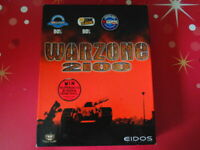 PC WARZONE 2100 WIN 95/98 RTS Real Time Strategy EIDOS BIG BOX