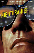NIGHTCRAWLER - ADVANCE - Movie Poster Flyer - 11X17 - ORIGINAL - JAKE GYLLENHAAL
