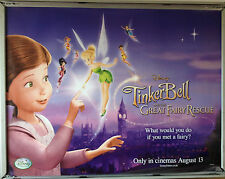 Cinema Poster: TINKERBELL & THE GREAT FAIRY RESCUE 2010 (Quad) Michael Sheen