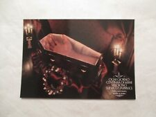 Hand in casket public transport Italian Italy Foreign Continental Sized Postcard