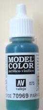 Vallejo Model Color Paint: 17ml Park Green Flat 70969 (M073)