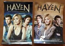 Lot of 2 HAVEN - 12x18 Original Promotional TV Poster SDCC 2013 MINT Comic Con