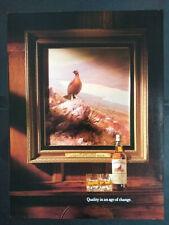 The Famous Grouse - Finest Scottish Whisky  1990's Magazine Advert #B5625