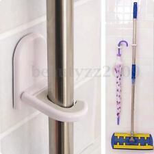 Kitchen Mop Broom Holder Wall Mounted Organizer Brush Storage Hanger Rack Hook