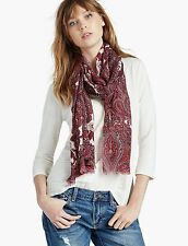 LUCKY BRAND WOMEN'S DAMASK PAISLEY SCARF NWT