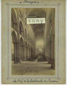 (94) Photo La nef de la cathédrale de ROUEN