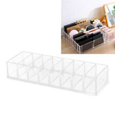 Clear Makeup Display Case Cosmetic Storage Box Holder Table Desk Organizer