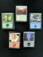 100 Basic Land Pack MtG Magic the Gathering Cards