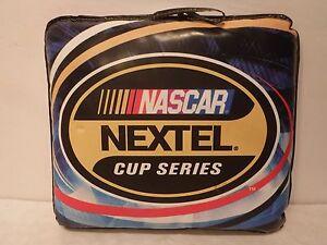 NASCAR Nextel Cup Series Padded Seat Cushion Handle Racing Track Seat Cushion