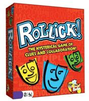 Rollick - Team Charades Game - Hysterical and Fun Family Games