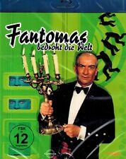 BLU-RAY NEU/OVP - Fantomas bedroht die Welt - Jean Marais & Louis De Funes