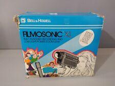 Vintage Bell & Howell Filmosonic Super 8 Sound Movie Camera 1235 - COMPLETE