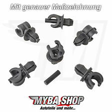 10x Interior Trim Fasteners Clips for Audi VW POLO GOLF 6n0823397c