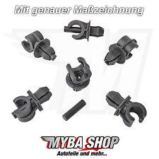 10x Innenverkleidung Befestigungs Clips für Audi VW Polo Golf | 6N0823397C