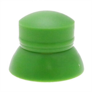 Pack of 25 M10 Green Secure Nut Caps, Locking Cover Caps for Nuts & Bolts