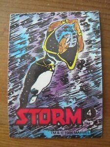 Marvel Stickers 1986 # 4 Storm - John Romita, Jr.      X-Men                ZST1