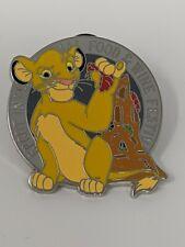 Simba Lion King Taste Your Way Around The World LR Mystery Box Disney Pin