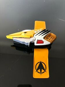 Power Ranger Dino thunder Drago with yellow Face plate & wrist strap