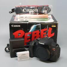 Canon EOS Rebel T4i / 650D 18.0MP Digital SLR Camera Body - 528 Clicks!
