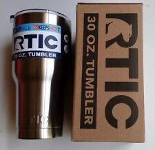 RTIC 30 Oz Stainless Steel Cup Double Vacuum Insulated Hot Cold Arctic.RTIC