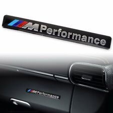 3D Aluminum ///M performance Car Emblem Badge Sticker Decal Fit For BMW Black