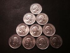 5 Rupee Indira Gandhi Mumbai Mint XF Condition 10 Coins