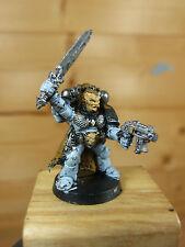 Classic metal space wolves grey Hunter SERGENT peints (2193)