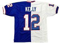 Jim Kelly autographed signed jersey NFL Buffalo Bills JSA COA Miami Hurricanes