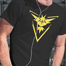 POKEMON GO T Shirt Inspired Design - Team Instinct Adult to Kids Sizes