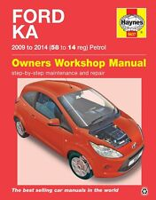Ford KA Petrol 2009 - 2014 Haynes Manual 5637 NEW
