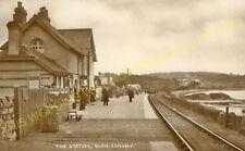 Glan Conway Railway Station Photo. Llandudno - Tal-y-Cafn. Blaenau Line. (8)