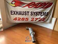 """COMMODORE VE  OMEGA LUKEY SPORTS EXHAUST  MUFFLER SINGLE PIPE WITH 3"""" TIP"""