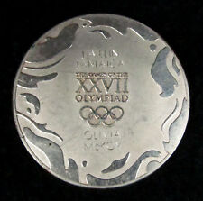 2000 Sydney Australia Olympics NAMED Athlete Participation Medal