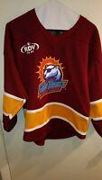 """Orlando SolarBears""""Harry Potter"""" theme K1 Hockey Jersey #25Youth XL Made In USA"""