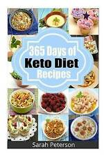 365 Days Keto Diet Recipes Low-Carb Recipes for Rapid Weight  by Peterson Sarah