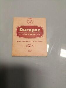 Vintage Collectable 1960s durex empty packet