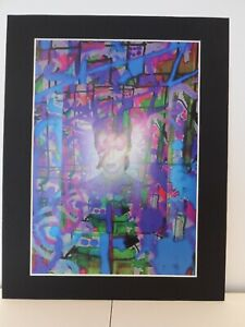 "David Bowie original Art 2SD 14"" x 11"" A4 Mounted Print"