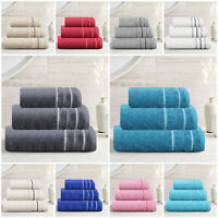 Premium Quality 100% Egyptian Cotton Towels 550 GSM Face Hand Bath Towel Sheet