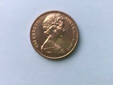 1969 Australian 2 Cent Coin - UNC From Mint Roll, RARE, lowest mintage 2 cent
