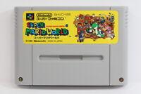 Super Mario World Bros 4 SFC Nintendo Super Famicom SNES Japan Import I5904 A VG