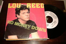 "LOU REED SPANISH WHITE LABEL 7"" SINGLE SPAIN NO MONEY DOWN"