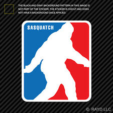 National Sasquatch Association Sticker Decal Adhesive Vinyl major league bigfoot