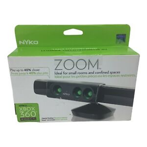 For X Box 360 Nyko 86085-A50 Kinect Sensor Zoom For Small Rooms Microsoft A3