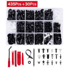 435Pcs Car Body Retainer Push Pin Trim Rivet Screw Panel Clip Fastener Tool Kit